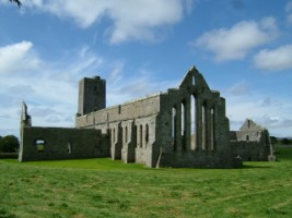 A view of Adfert Friary, Ardfert, Co. Kerry