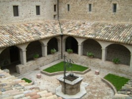 Cloister at San Damiano, Assisi