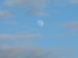 Moon over Multyfarnham, Co. Westmeath