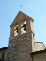 The bell tower at San Damiano, Assisi