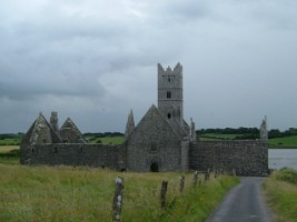 Approach to Rosserk friary, Co. Mayo