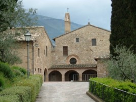 The Church of San Damiano, Assisi as it appears today